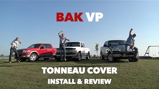 Bak VP BakFlip Folding Tonneau Cover Installation & Review
