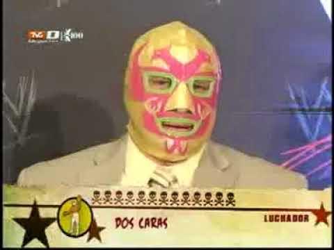 WWE Alberto del Rio (Dos Caras Jr. en CMLL) Entrevista en Tercera Caida Pt.1