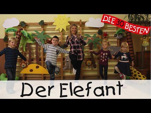 Der Elefant - Singen, Tanzen und Bewegen || Kinderlieder