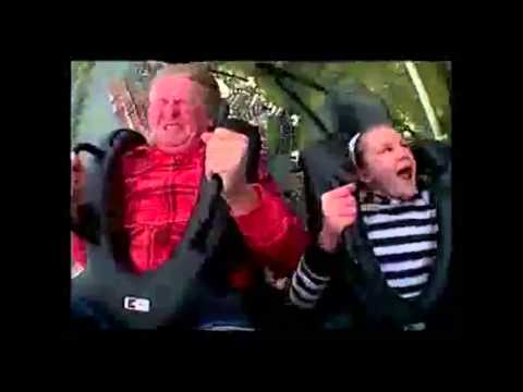 Funny Roller Coaster Fails (compilation)