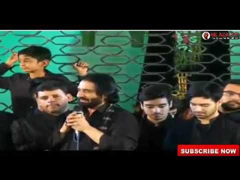 Live Noha Nadeem Sarwar, Ali Shanawar, Ali Jee  Hyderabad (India) 1440/2019 Ayyam e fatimi sa