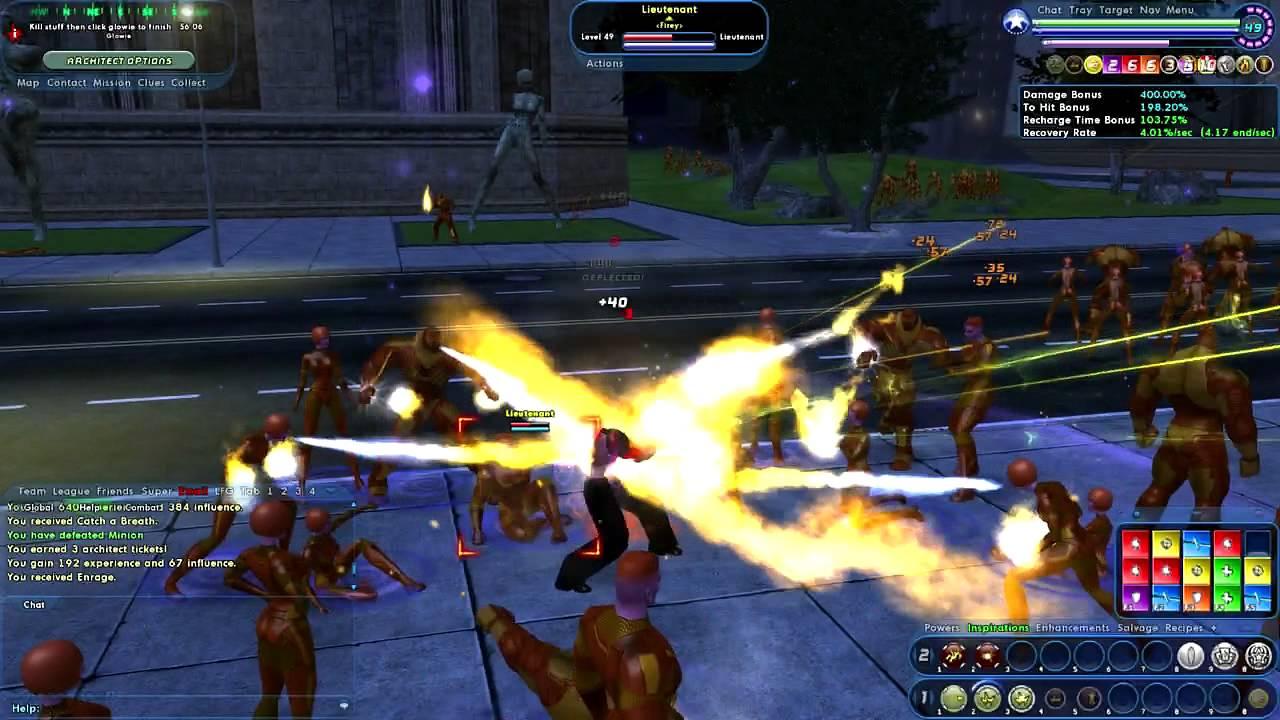 city of heroes сервер: