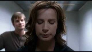 Six Feet Under - Brenda and imaginary Nate in elevator