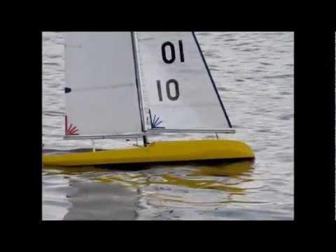 D1 Design IOM RC Yacht YouTube