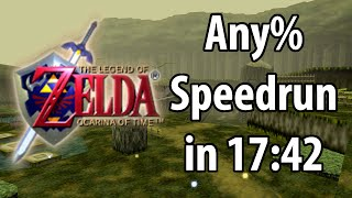 The Legend of Zelda: Ocarina of Time Any% speedrun in 17:42 by Torje [Former World Record]