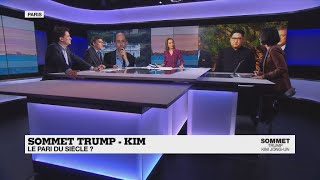 Sommet Trump-Kim : le pari du siècle ?