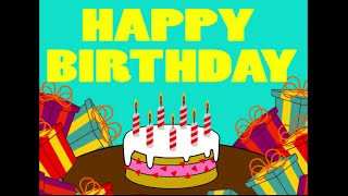 Tanti Auguri, Happy Birthday, Buon Compleanno (video Divertente)