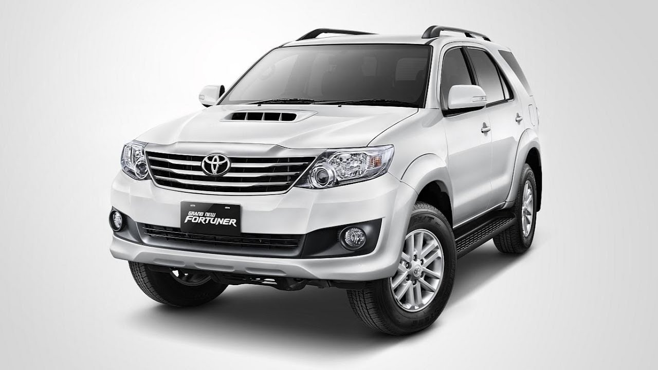 Toyota New Fortuner 2014 - YouTube