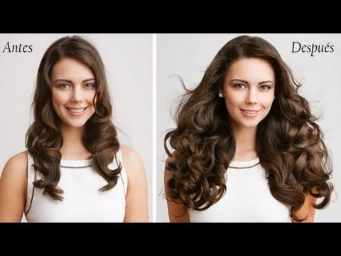 antes y despues extensiones de cabello natural youtube