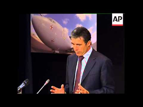 Presser by NATO Secretary General Rasmussen on Afghanistan