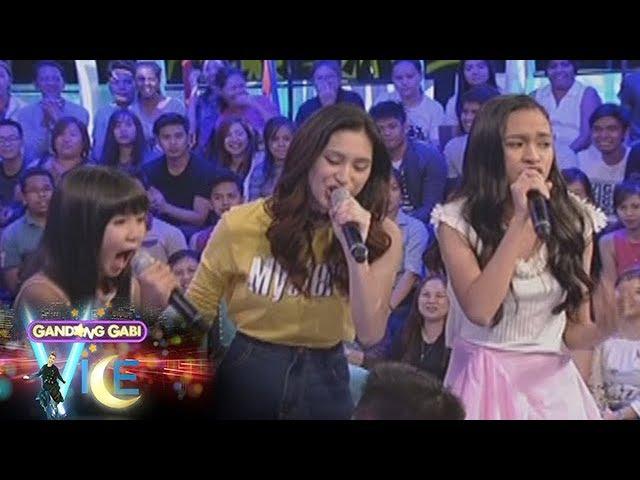 GGV: Jona, Isabela, Mica, and Jeremy voice battle