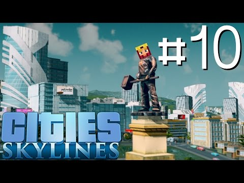 Cities Skylines Let's Play: Part 10 ►Buses for the Masses◄ (Gameplay & Tutorial 1080p 60fps)