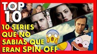 Top 10 Series que no sabías que eran Spin off  - Top Ten #64  Popcorn News