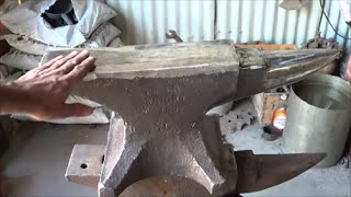 Blacksmithing -  Restoring An Old Peter Wright Anvil