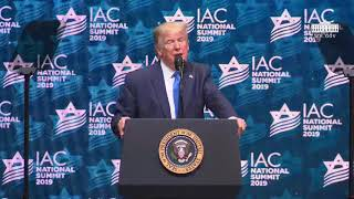 President Trump Delivers Remarks at the Israeli American Council National Summit 2019