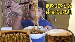 Chinese BURGERS & SPICY Noodles: Vancouver Xi'an Food Tour
