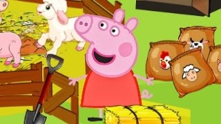 Peppa Pig Feed The Animals New Top Peppa pig Games For Kids 2015