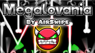 Geometry Dash [2.0] (Demon) - Megalovania by AirSwipe - GuitarHeroStyles