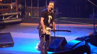 Pearl Jam ~ Dedication to Jeff Ament's Parents (Jobing.com Arena 11/19/13)