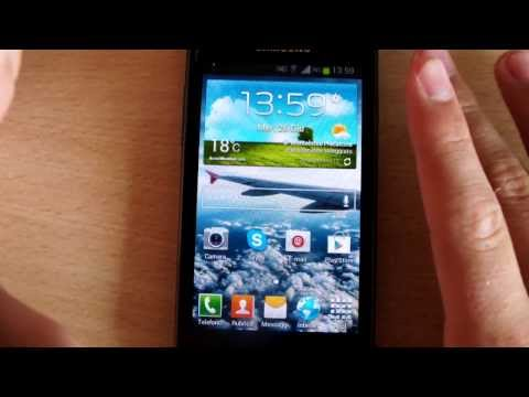 Video Review Update 4.1.2 Samsung Galaxy S Advance - ITA