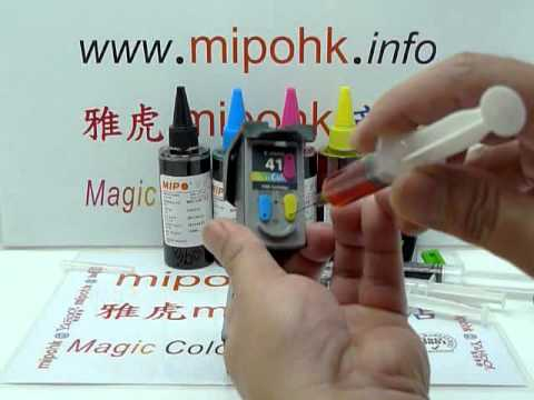 Canon PG-40  CL-41  PG40  CL41  Cartridge Refill by mipohk