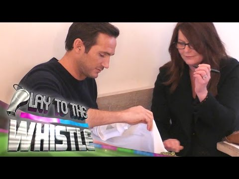 Frank Lampard Plays Prank To Get Wayne Rooney's Autopgraph | Play to the Whistle