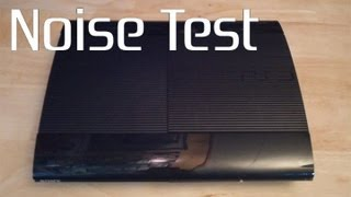 Super Slim PS3 Noise Test/Comparison