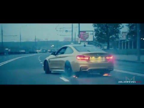 BMW M4 - Луд уличен дрифт в Москва