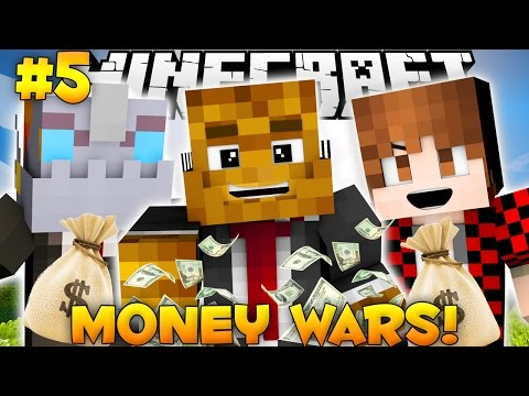 "Minecraft MONEY WARS ""BEST COMEBACK EVER"" #5 w/ BajanCanadian & Nooch"