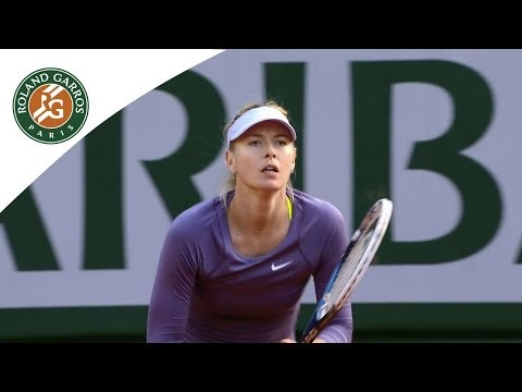 Sharapova is ready for the French Open