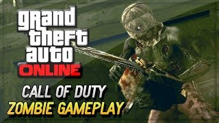 "GTA 5 Mods ""Call Of Duty Zombies Apocalypse"" GTA V Mod (GTA 5 Zombie Mods Gameplay)"