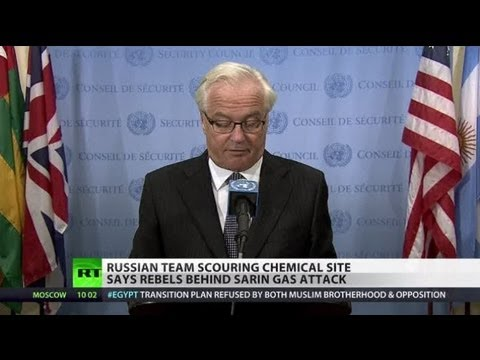 Syrian rebels behind Aleppo sarin attack, not Assad forces - Russian inquiry to UN