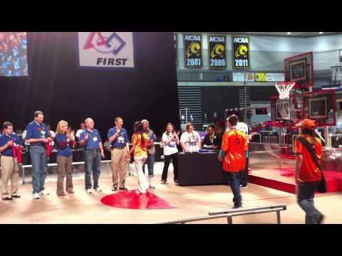 2012 Virginia States Engineering Inspiration Award for Sparky 384 -Tucker High School)
