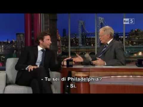 Bradley Cooper @ David Letterman Show 12/11/12 SUB ITA