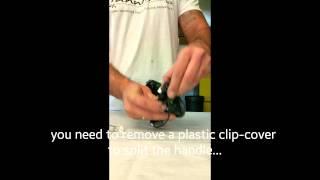 How to take Porsche Panamera handle apart
