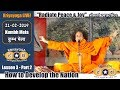 "Kriyayoga Lesson 3: How to Develop the Nation | PART 2: ""Radiate Peace & Joy"" (Short Practice) thumbnail"