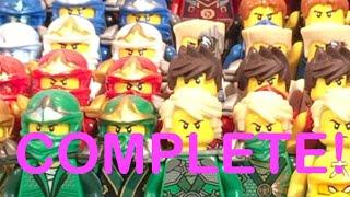 LEGO Ninjago COMPLETE Ninja Suit Collection!