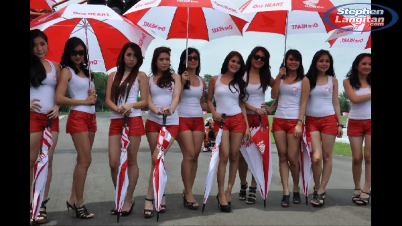 HOT Umbrella Girls Indoprix 2012 Seri-1 - YouTube