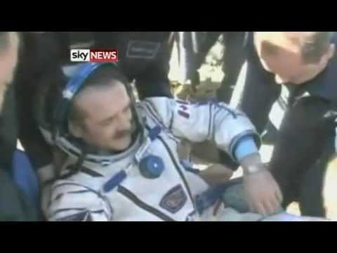 Chris Hadfield Returns To Earth After 147 Days In Space