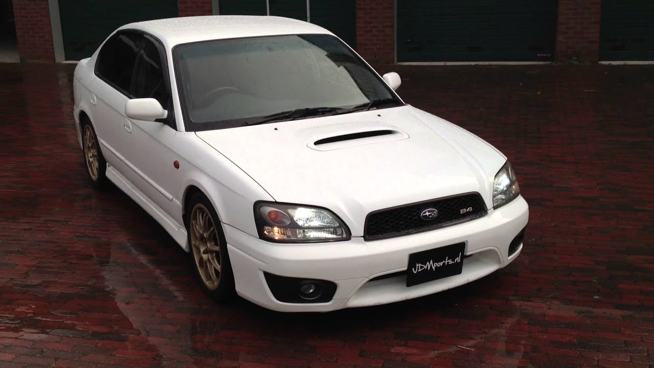 Subaru Legacy For Sale >> 2001 Subaru Legacy B4 RSK - YouTube