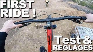 LE PREMIER RIDE ! YT CAPRA AL COMP ! Test & Réglages