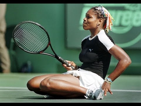 Martina Hingis vs Serena Williams 1998 Miami Highlights