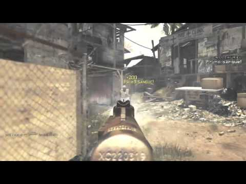 jedi zauriel - MW3 clip proper use of a PP90M1 - part 2