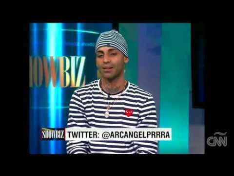 """Arcángel: """"Yo no soy lindo, yo tengo personalidad"""" @ ShowBiz, CNN (Entrevista) videos"""