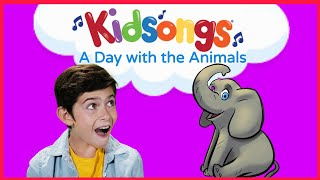 A Day With The Animals By Kidsongs Bingo Dog Song Nursery Rhymes Baby Songs Pbs Kids
