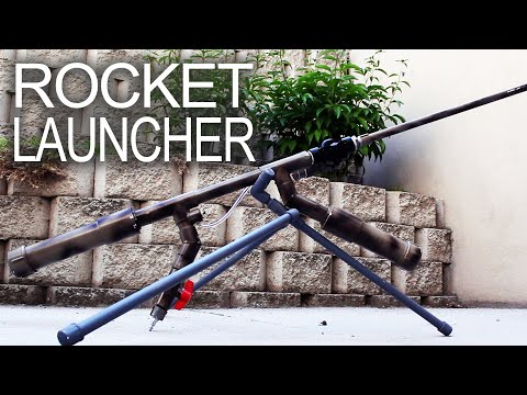 Powerful Handheld Rocket Rifle (AK-47 style)