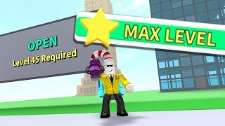 HOW TO GET MAX LEVEL 45 in ROBLOX DESTRUCTION SIMULATOR!!!