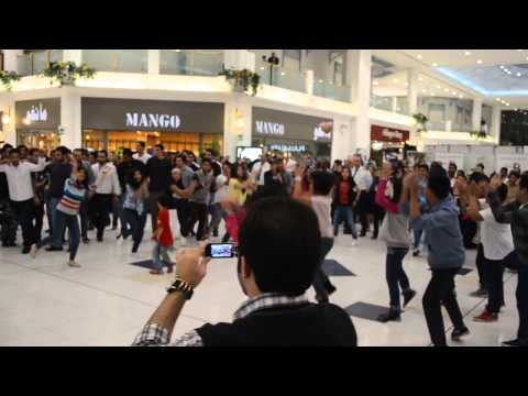 Flashmob @ LandMark mall, Doha - Qatar
