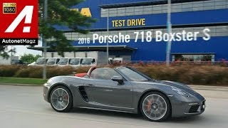 Review Porsche 718 Boxster S and test drive by AutonetMagz