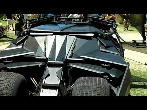 Evolution of the Batmobile (1966 - 2012)